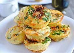 miniatur, brunch foods, mini frittata, mini muffins, muffin tins, frittatas, fun recip, minis, bar recipes