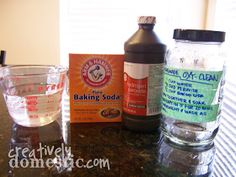 Creatively Domestic: Homemade OxyClean