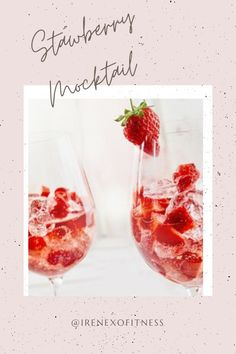 If you love a fresh strawberry drink, try this easy recipe and make the switch to a healthier drink this Valentine's Day! ⁣⁣ ⁣⁣ 🍓 Two ingredients⁣⁣ 🍓Keep your energy⁣⁣ 🍓Pro gut health⁣⁣ 🍓Healthy liver⁣⁣ 🍓Sip guilt + worry free⁣⁣
