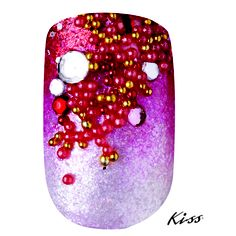 "Created Using #KissProducts Disney Villains Nail Art Kit in ""Evil Queen""."