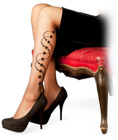 ThinkGeek :: Helix Pantyhose