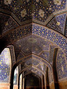 Imam(Shah) Mosque, Isfahan, Iran