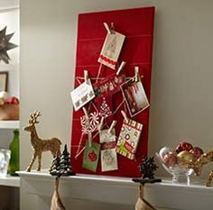 Star Christmas Card Holder - Decor Project Guides at The Home Depot
