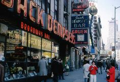 Jack Dempsey's, New York 1967 | Flickr - Photo Sharing!