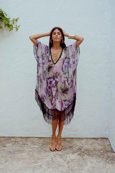 Boho Tassle Fringe Kaftan | Bohemian Fashion