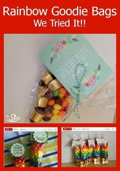 These are so cute! Colorfully Creative St. Patrick's Day Party Bag DIY (VIDEO) http://thestir.cafemom.com/food_party/169187/colorfully_creative_st_patricks_day?utm_medium=sm&utm_source=pinterest&utm_content=thestir&newsletter