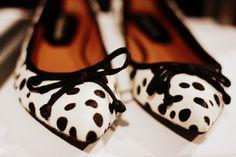 spottedsho fashion, fashion shoes, polka dot, dalmatian, ador dot, girl fashion, dot flat, ballet flats, dot shoe