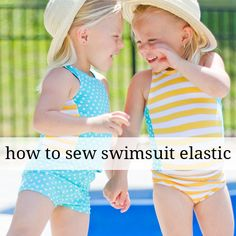 Sew Along Day 3- How to Sew Swimsuit Elastic