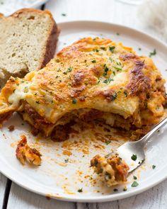Extra Cheesy Classic Homemade Lasagna. - Half Baked Harvest