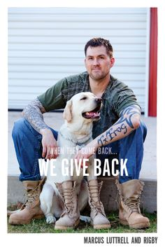 Marcus Luttrell, the Lone Survivor.   www.bootcampaign.com