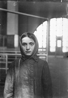 """Russian Jew at Ellis Island,"" Lewis Hine, 1905."