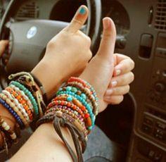 #layering  #bracelets