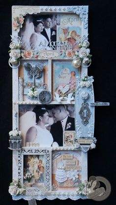 Amazing altered photo tray by @Arlene Butterflykisses using Place in Time. Gorgeous! #graphic45 #alteredart