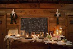 Southern Wedding Barn Chalkboard