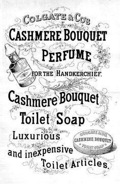 Cashmere Bouquet perfume ad