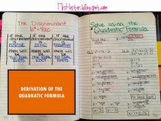 Quadratic Functions Unit
