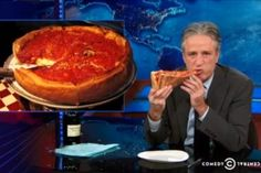 The Daily Show Disses Deep Dish