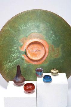 Gertrud & Otto Natzler, Miniature vases (5)