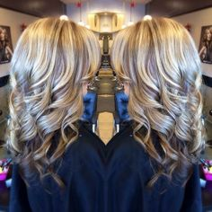 beauty tips, hair colors, blonde with brown lowlights, blond hair, curl
