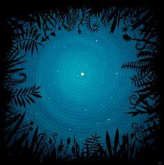 À la belle étoile   by Félix Rousseau  http://cargocollective.com/felixrousseau