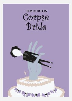 Corpse Bride (2005) ~ Minimal Movie Poster by Daniel Nicolas
