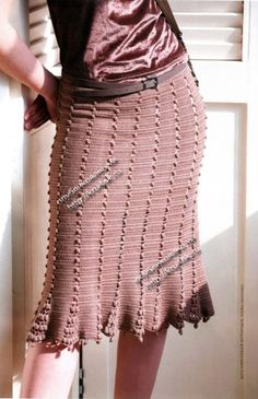 Женская юбка, связанная крючком crochet inspir, crochet fashion, skirt patterns, crochet knit, crochet golden, uncinetto doro, crochet skirts, crochet cloth, falda