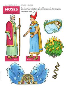 Scripture Figures, Moses
