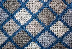 Fotos de colchas a crochet