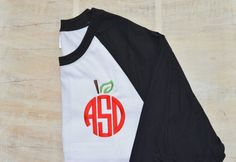 Apple monogram shirt