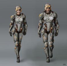 pacific rim cherno alpha pilots  ... russian sci-fi suit...
