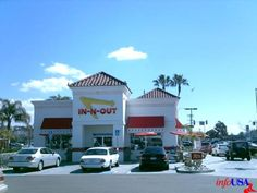 San Diego's In-n-Out burgers