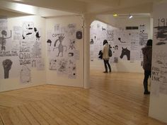 David Shrigley exhibition - Cornerhouse, Manchester