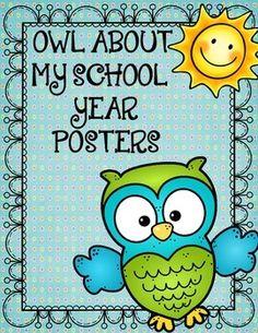 school year, adorable classroom owl