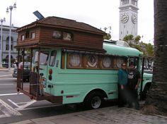 Sweet bus conversion