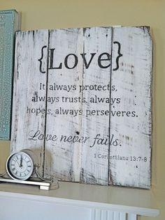 "Cute ""Love"" Sign"