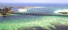 Crab Island, Destin, FL
