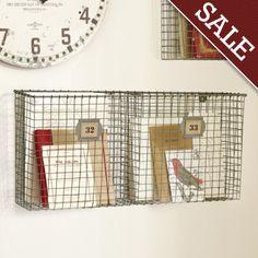 Ballard Designs wire wall basket