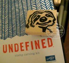 Undefined sloth stampin up tara bazata