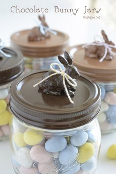 DIY chocolate Easter