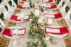 rustic elegant reception, photo by David Guenther http://ruffledblog.com/leduc-stone-barn-wedding #weddingideas #tablescape #weddingreception