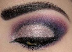 Josi Von Kit beauti idea, color combos, eye fink, makeupth eye, colors, dramas, steel, pretti