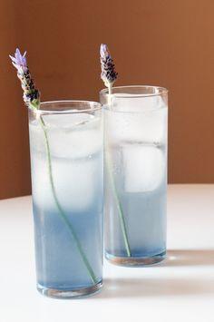 Lavender and Vodka Cocktail #cocktails #drinks