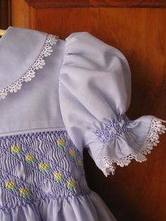 Baby/Infant girl lavender hand smocked by ForTheLoveOfSmocking