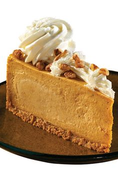 Our seasonal #pumpkin #cheesecake... Mmm...