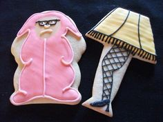 """These are just adorable....I just love """"The Christmas Story""""!     http://www.baileysdozen.etsy.com"""