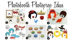 Photobooth Photoprop Ideas