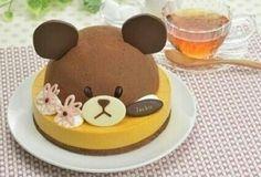 Kawaii bear cake
