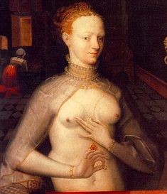 Diane de Poitiers (3 September 1499 – 25 April 1566) was a French noblewoman and a prominent courtier at the courts of kings Francis I and his son, Henry II of France. She became notorious as the latter's favourite.