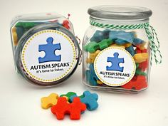 Autism speaks cookies daisy_