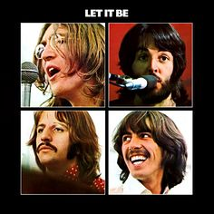 the beatles album covers | Let It Be Album Cover - The Beatles Album Covers